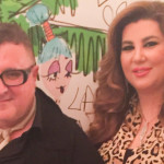 With Lanvin's Alber Albaz – Private High Tea Party – April 2015 – Dubai